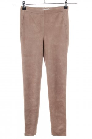 Absolu Paris Leggings bronzefarben Casual-Look