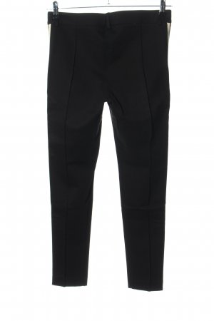 Absolu Paris Stretchhose schwarz Casual-Look