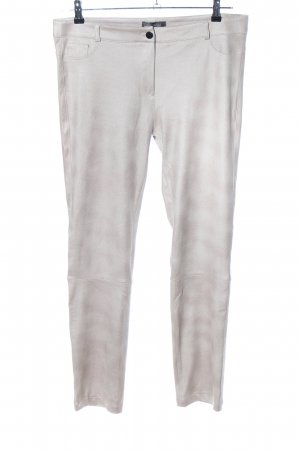 Absolu Paris Stretch Trousers light grey-brown color gradient casual look