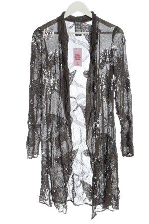 ABSOLUT Veste chemisier gris clair élégant