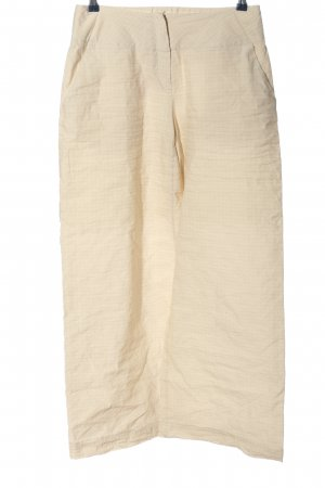 Absolut by Zebra Jersey Pants cream check pattern casual look