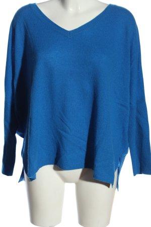 Absolut Cashmere Sudadera de cachemir azul look casual