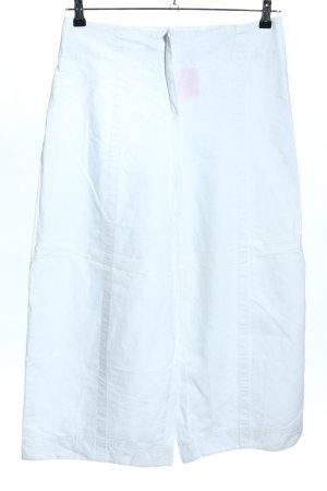 ABSOLUT Falda pantalón de pernera ancha blanco look casual