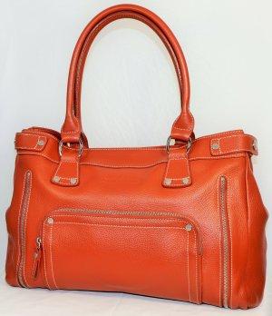 Longchamp Borsa a tracolla cognac Pelle