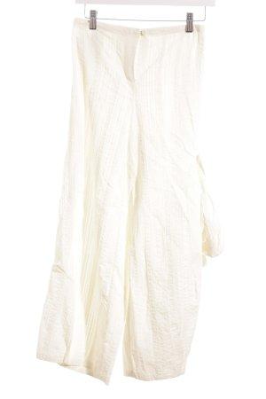 ABSOLUT Pantalón tipo suéter beige claro estilo extravagante