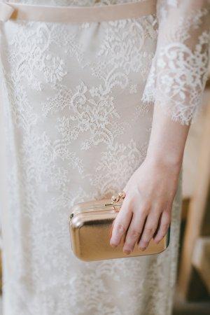 """ABVERKAUF: """"White Eternity"""" Brautkleid/ Hochzeitskleid (Wiener Designer), makellose Qualität, Vintage-Look, Gr. 40/M-L"""
