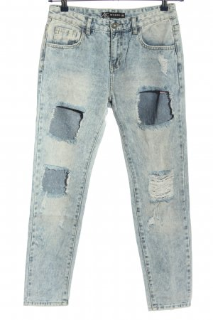 AC Boyfriend Jeans blue casual look