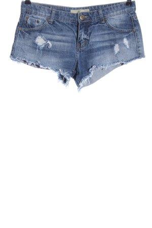 AC Denim Jeansowe szorty niebieski W stylu casual