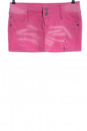 AC Denim Skirt pink color gradient casual look