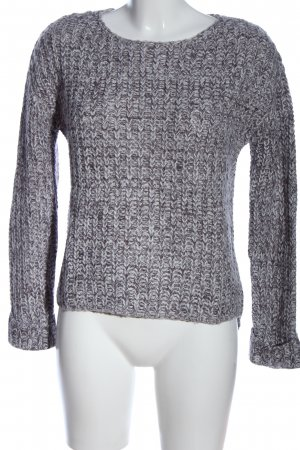 AC Crewneck Sweater light grey flecked casual look