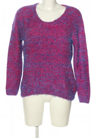 AC Knitted Sweater pink-blue casual look
