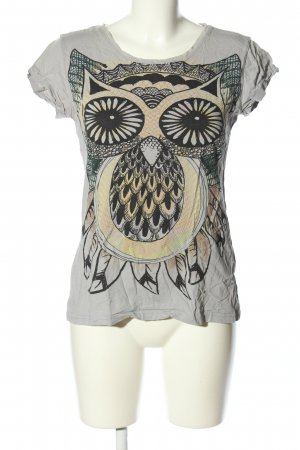 AC T-Shirt Motivdruck Casual-Look