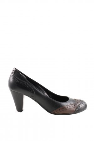 Accademia Loafer nero-marrone stile professionale