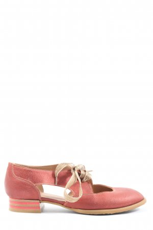 Accatino Zapatos brogue rosa look casual