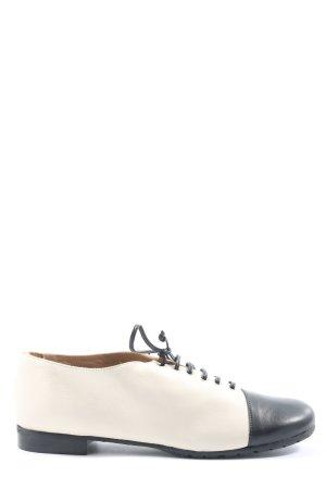 Accatino Zapatos brogue blanco-azul look casual
