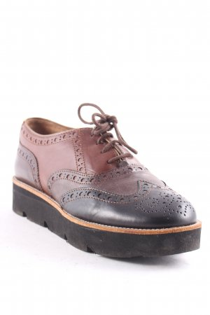 Accatino Lace Shoes brown-dark brown casual look