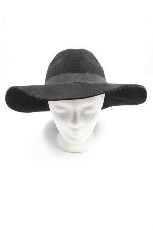 Accesorize Cappello in feltro nero stile casual