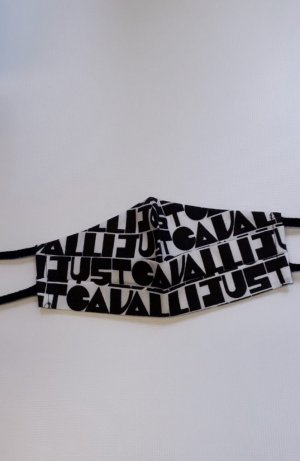 Cavalli Suspenders black-white