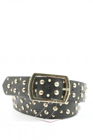 accessoires by takko fashion Cintura in ecopelle nero stile casual