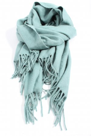 Accessoires Fringed Scarf turquoise casual look