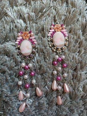 Accessoires Kolczyk z perłą Wielokolorowy