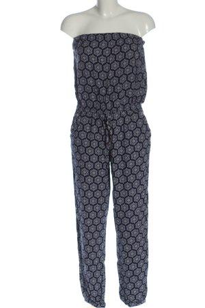 Accessoires Langer Jumpsuit niebieski Na całej powierzchni W stylu casual