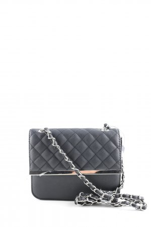 Accessoires Torebka mini czarny Pikowany wzór W stylu casual
