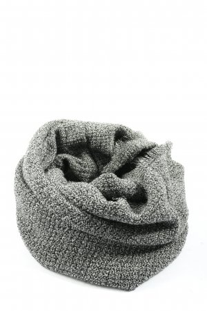 Accessoires Snood black-white flecked casual look