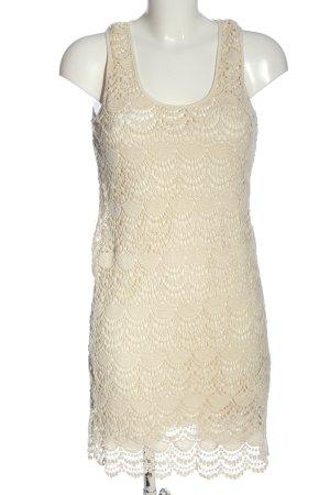 Accessoires Letnia sukienka kremowy Elegancki