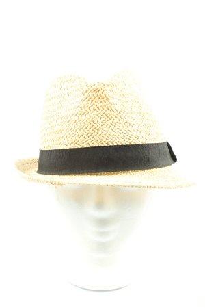 Accessoires Sun Hat cream-black casual look
