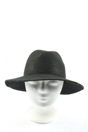 Accessoires Kapelusz z filcu czarny W stylu casual
