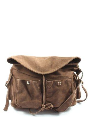 Accessoires Sac en toile brun style décontracté
