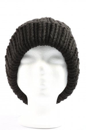 Accessoires Knitted Hat black casual look