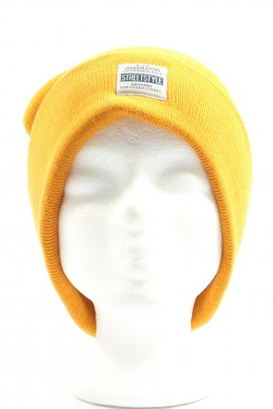 Accessoires Knitted Hat primrose mixed pattern casual look