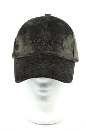 accessories Gorra de béisbol negro letras bordadas look casual