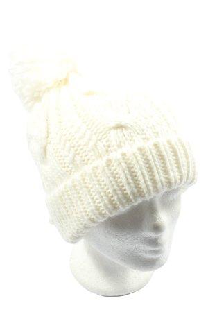 accessories Crochet Cap white casual look