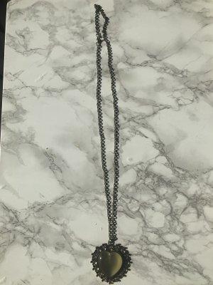 Accessories Halskette Brozen Vintage mit Herzanhänger NEU