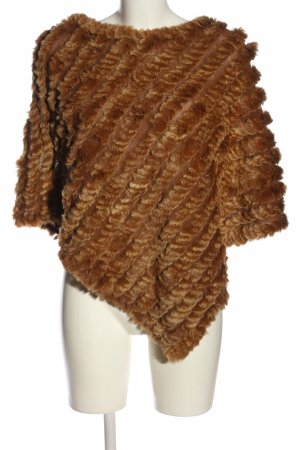 accessories Poncho marrone stile casual