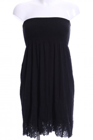 Accessorize Bandeau Dress black casual look