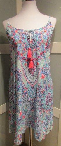 Accessorize Vestido tipo overol multicolor Viscosa