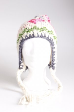 Accessorize Knitted Hat multicolored polyacrylic