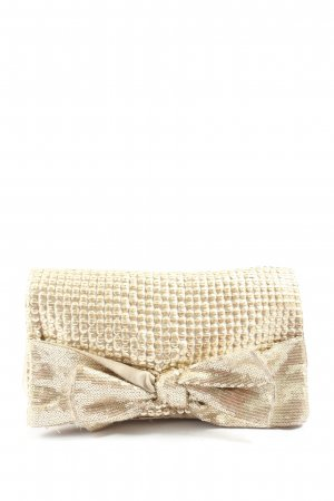 Accessorize Clutch natural white-gold-colored elegant