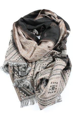 Accessorize Sjaal met franjes volledige print casual uitstraling