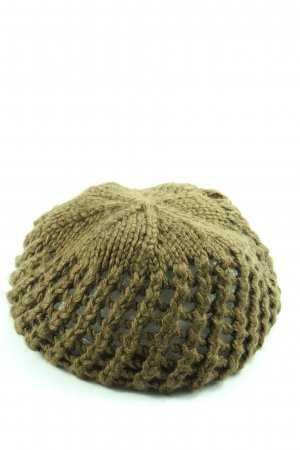 Accessorize Cappello all'uncinetto cachi stile casual