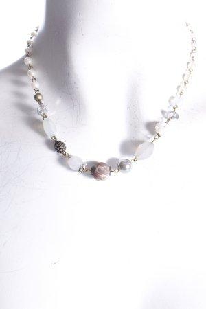 Accessorize Halskette goldfarben mit Steinen