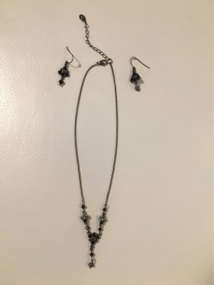 Accessorize Halskette mit passenden Ohrringen NEU und ungetragen