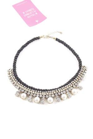 Accessorize Halskette schwarz-goldfarben Elegant