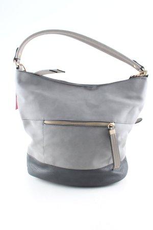 Accessorize Sac Baril gris clair style d'affaires