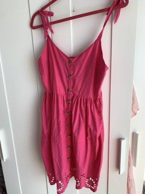 Accessorize Vestido playero rojo frambuesa