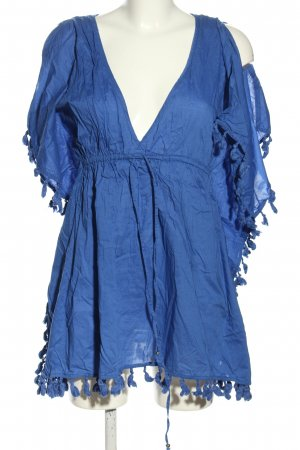 Accessorize Long Blouse blue casual look